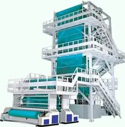 Fully Auto High Production Tarpaulin Making Machine