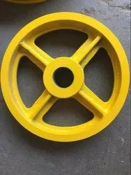 MAAN 200mm To 300mm ELEVATOR DIVERTER PULLEY, For Lifting Platform, Multi-Groove
