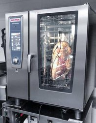 Rational SCC101E 10 Grid 1/1GN Electric Self Cooking Center / Combination Oven