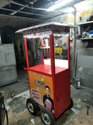 Trolley Type Popcorn Machine