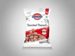 Proprietary Food Salty Diamond Roasted Peanuts, Packaging Size: 20-500