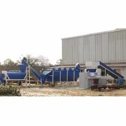 High Speed Extrusion PET Plastic Waste Washing Plant