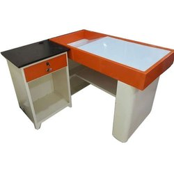 Mild Steel L Type Cash Counter