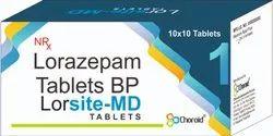 Lorazepam MD 1 Mg Tablets (Lorsite 1 )