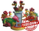 Dragon Kiddie Amusement Ride Game - Multi