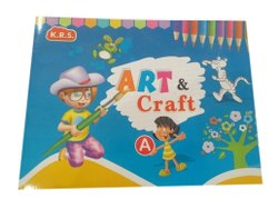 Arts English Kids Art And Craft A Book
