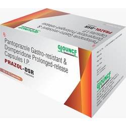 Pantoprazole Gastro-Resistant And Domperidone Prolonged-Release Capsules IP