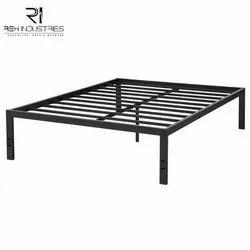 Rex Industries Black Steel Bed