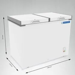 Blue Star CHFDD500 Double Door Deep Freezer (470 L, White)