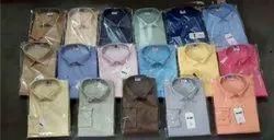 AXL Regular Fit Royal Plain Shirts