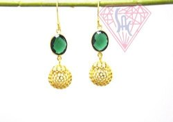 Green Onyx Jewelry Earrings