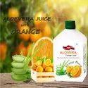 Orange Aloe Vera Orange Juice
