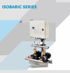 Isobaric pressure boosting system