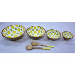 CII-800 Wooden Bowl Set