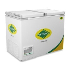 325 Liters Western Hard Top Double Door Deep Freezer WHF325H, Top Open Door