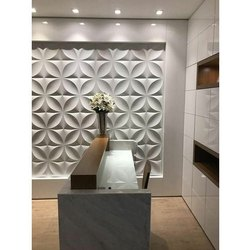 Drywall Clad 3D PVC Wall Panel, For Walls