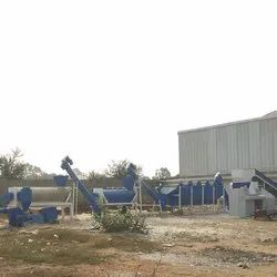 Road Waste Plastic Washing Plant