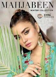 Cyra Fashion Mahjabeen Pashmina Winter Suits Catalog