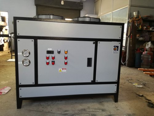 Automatic Three Phase Air Cooled Water Chiller with External Tank