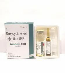 Doxycycline 100mg For Injection USP