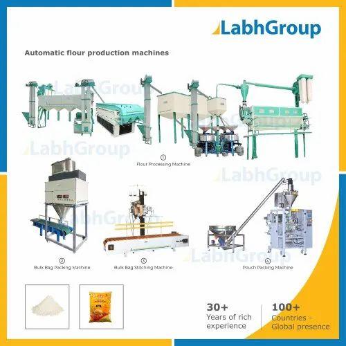 Advance High Capacity Flour Mill Machines