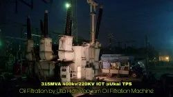 Power Transformer Oil Filtration Services