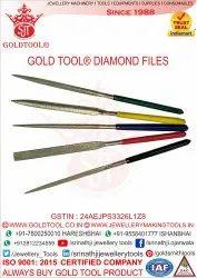 Gold Tool Diamond Files