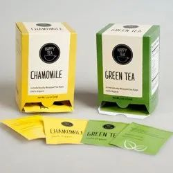 Multicolor Paper Tea Packing Boxes Printing Service