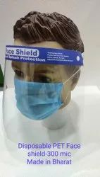 Disposable PET Face Shield-300 Mic
