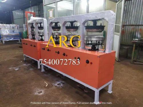 Semi Automatic Pakku Mattai Plate Making Machine