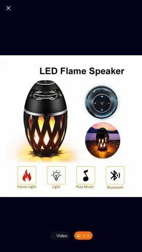 LED Flame Bluetooth Speaker