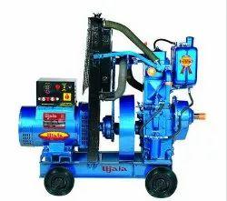 Mild Steel Diesel Welding generator Water Cooled Single Cylinder Diesel Generator, For Commercial, Model Name/Number: Ujala