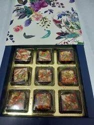Chokoday Cardboard Diwali Chocolate Gift Box, For Food, Box Capacity: 1-5 Kg