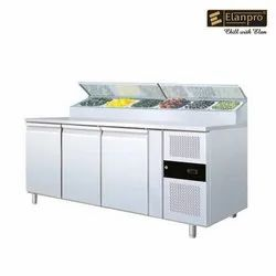 Elanpro  ESH 3000 Three Door Under Counter With Prep Table