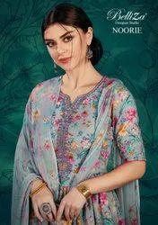 Belliza Designer Studio Noorie Pashmina Dress Material Catalog