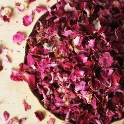 Pink Top-Quality Dried Rose Petals, Packaging Size: 10 Kg
