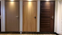 Brown Pre-laminated Flush Doors, For Home