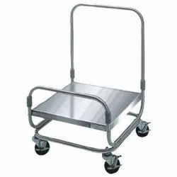 MEC Stainless Steel Platform Trolley, For Industrial
