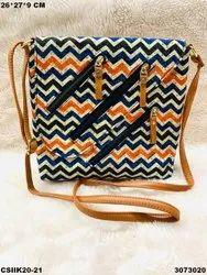 Ikkat Designer Sling Bags