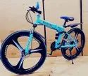 Sky Blue Mercedes Benz Foldable Cycle