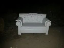WOODEN COVED SOFA