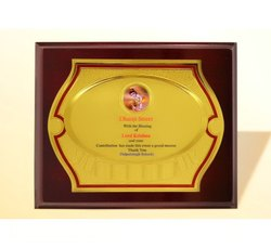 FP 10771 Golden Certificate Memento