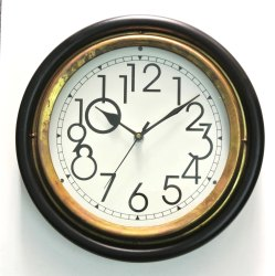 Brass Antique Wall Clock