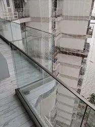 Balcony Panel Aluminium Railings