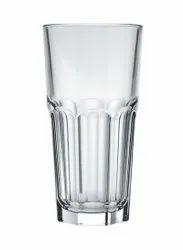 Transparent Glass Tumbler Long Glass By Nadir, For Restaurant, Capacity: 340ml