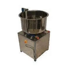 Pappad Dough Mixing Machine L Type 10 Kgs With Burner