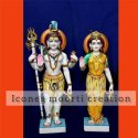 3 Feet Shiv Parvati Statue