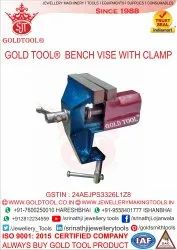 Gold Tool Revolving Table Vice