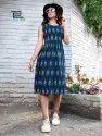 Blue Hills Ikkat Vol 5 Stitched Rayon Kurti Catalog