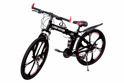 Land Rover Black 6S Foldable Cycle